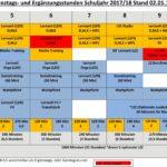 Ganztags-/Ergänzungsstunden JG 5-10